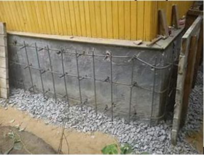 Подливка цементным раствором фотофон бетон