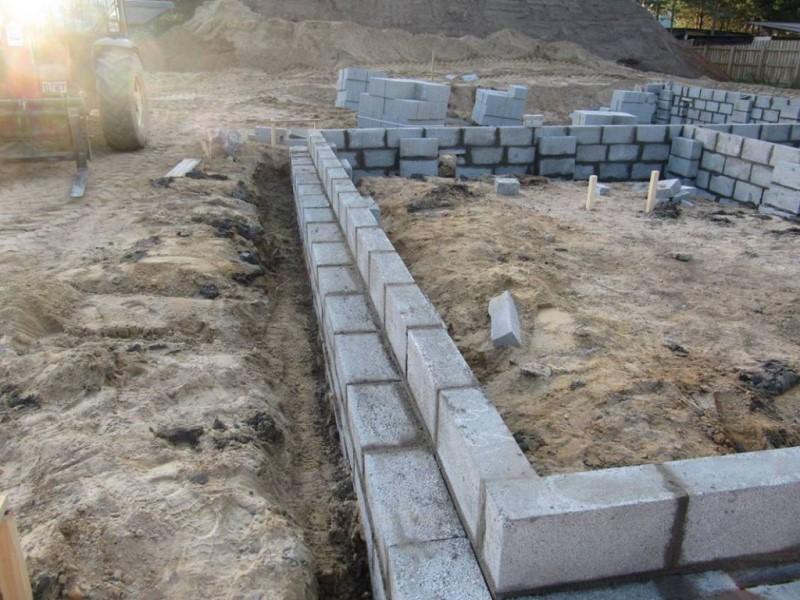 Фундамент из керамзитобетона пропорции купить краску по бетону в москве