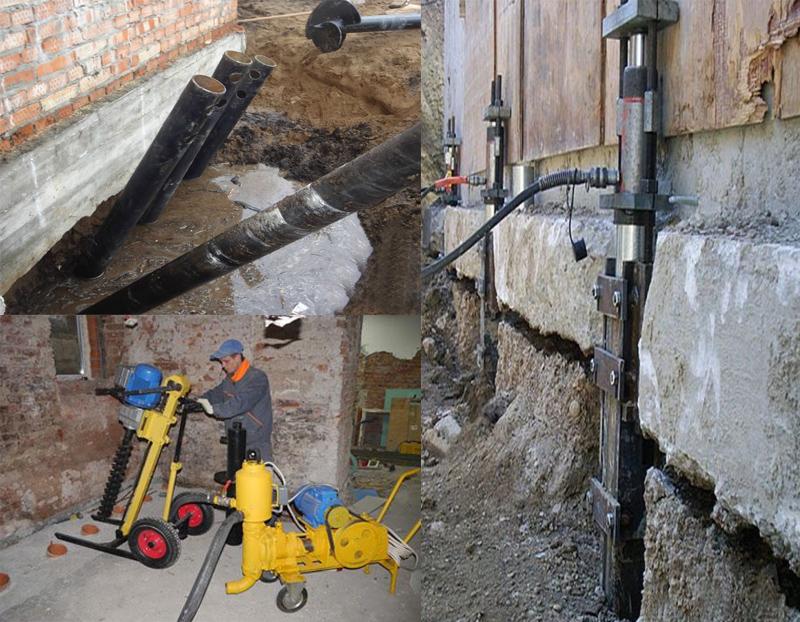 Усиление фундамента бетоном ооо монолит бетон москва